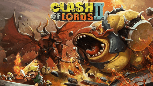 Clash of Lords 2 para LG G3
