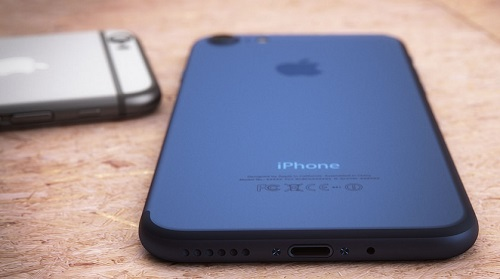 Color Azul Oscuro iPhone 7