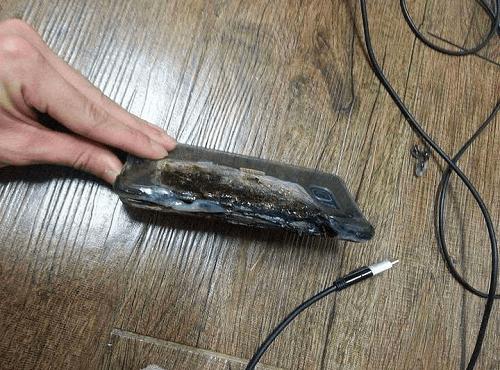 Fallas en la batería del Galaxy Note 7