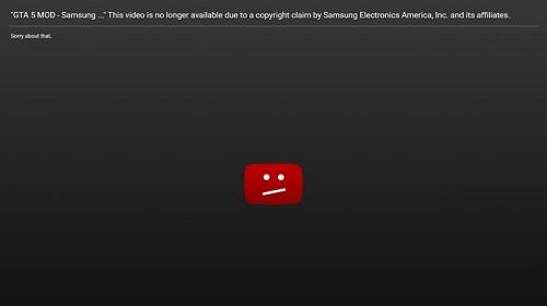 el-video-de-youtube-ha-sido-eliminado-por-samsung
