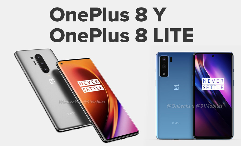 OnePlus 8 Y OnePlus 8 LITE 2020