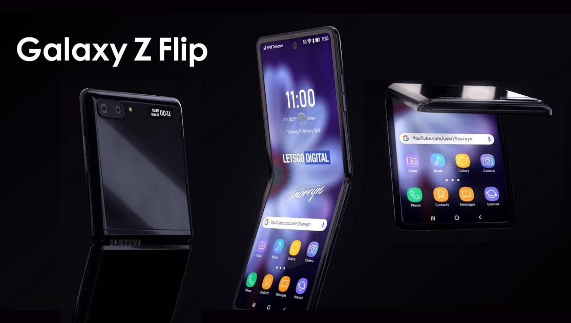 Samsung Galaxy Flip Z 2020