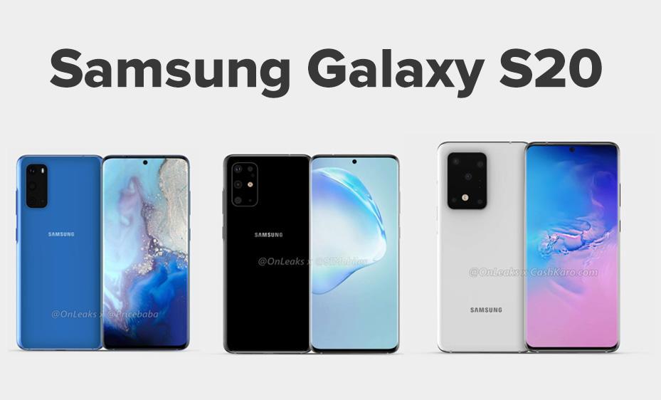 Samsung Galaxy S11 , o Samsung Galaxy S20