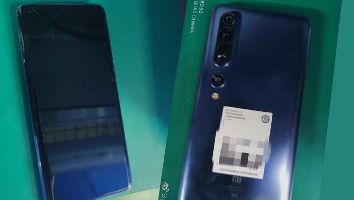 Xiaomi Mi 10 Pro 5G imagenes filtradas parte trasera camara pantalla
