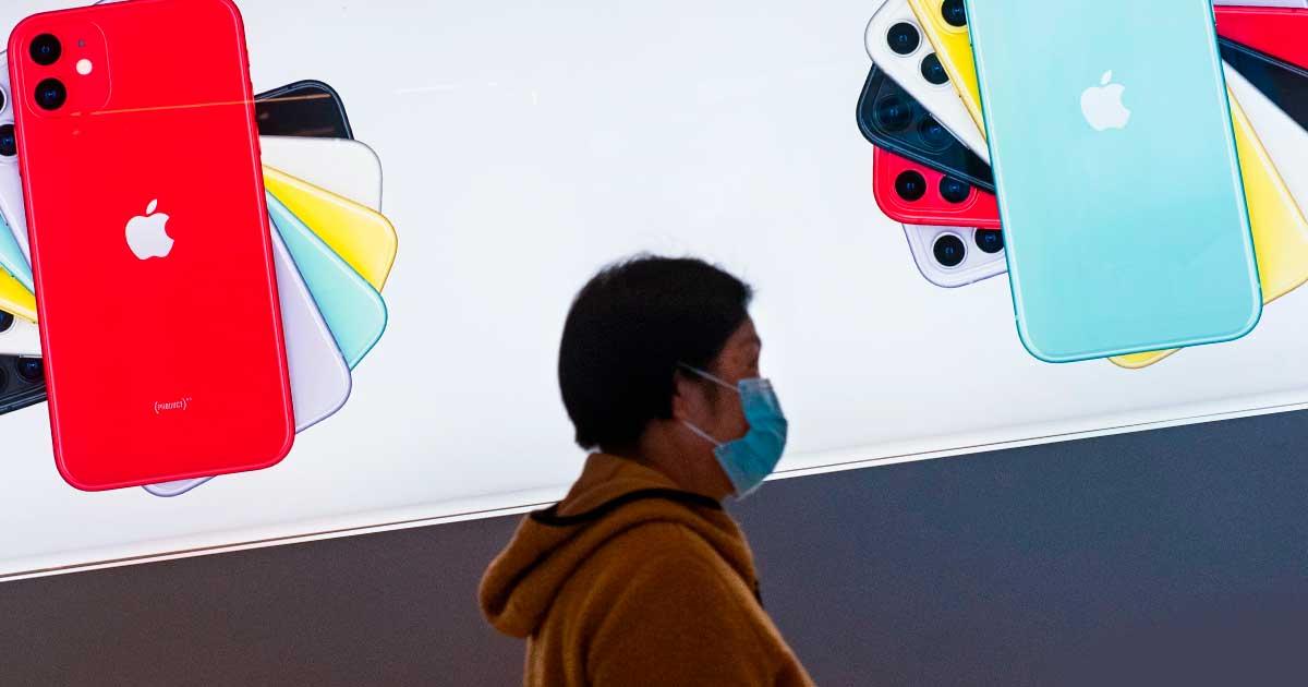 Apple cambia la producción de China a Taiwán debido al Coronavirus