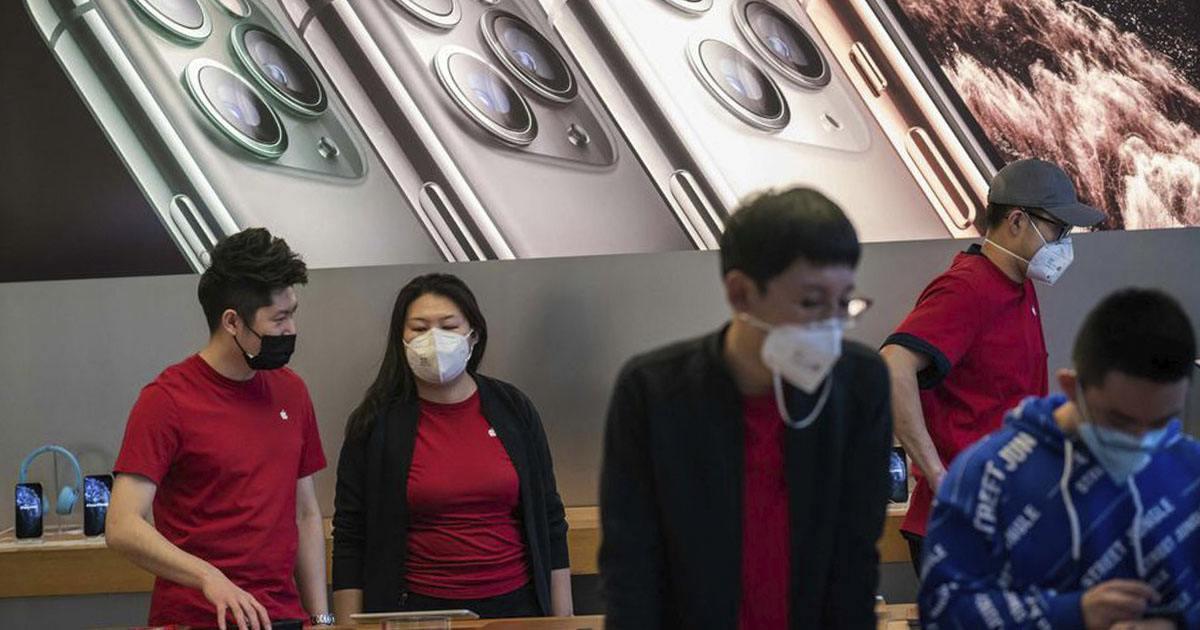 Apple cierra sus tiendas en China por temor a Coronavirus