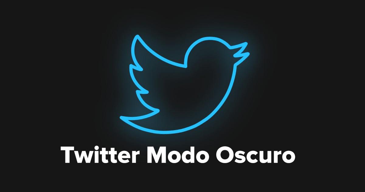 Como activar el Modo Oscuro en Twitter en Escritorio iOS y Android