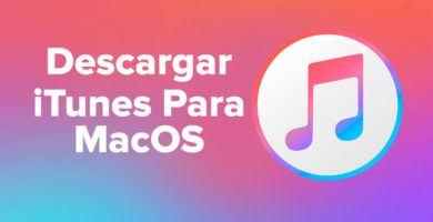 Descargar iTunes para MacOS gratis Última Versión