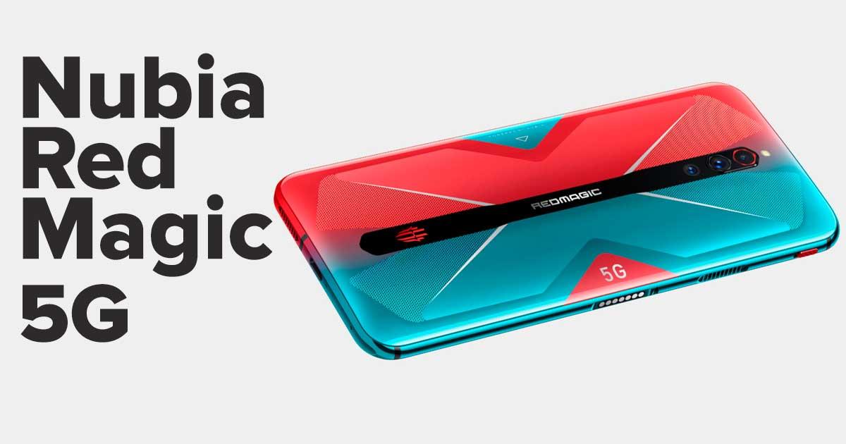 GameBench Presenta el nuevo teléfono Gaming Nubia Red Magic 5G y 144Hz