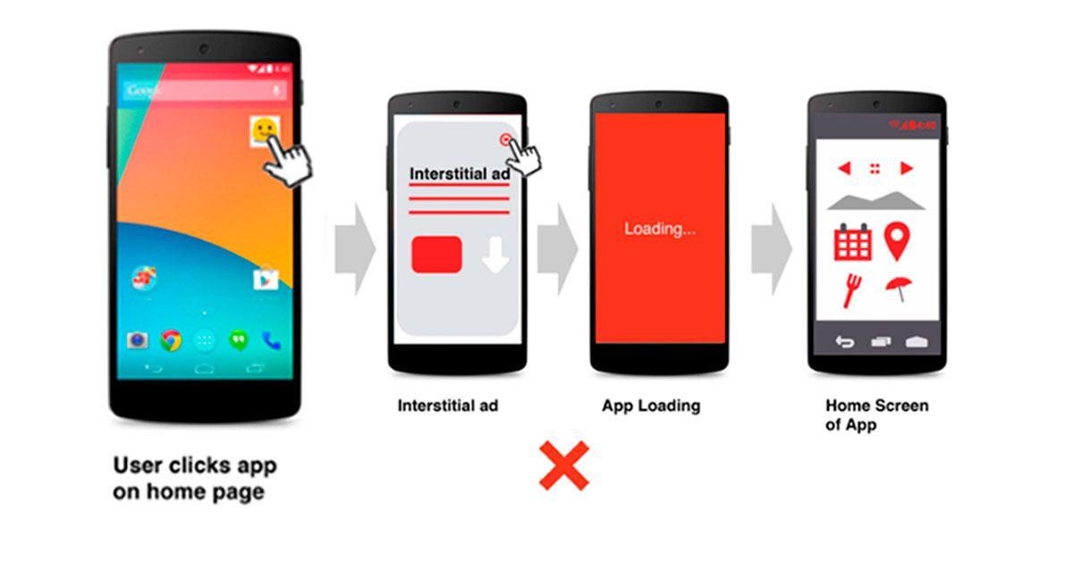 Google elimina de la Play Store más de 600 aplicaciones por abuso publicitario