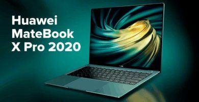 Huawei MateBook X Pro 2020 con CPU Intel Core de 10a generación caracteristicas, precio, fecha de lanzamiento