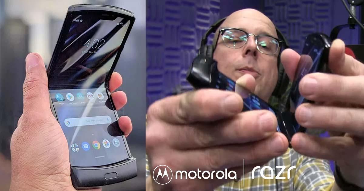 La bisagra del Motorola Razr se rompió tras 27,000 aperturas y cierres