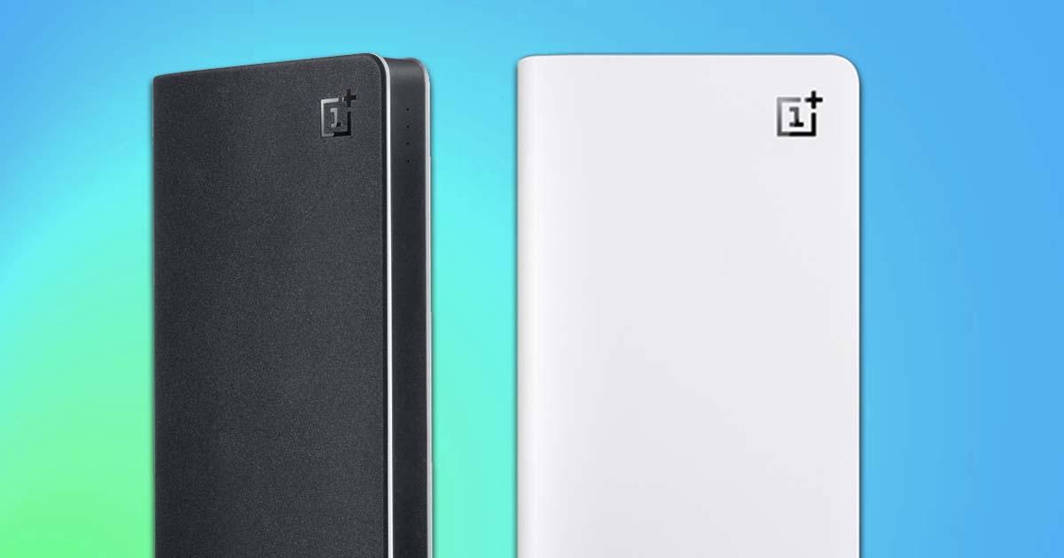 OnePlus podría lanzar una Power Pank de carga rápida junto con el OnePlus 8 pro