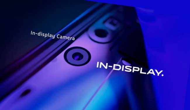 Vivo APEX 2020 Cámara Selfie debajo de la pantalla