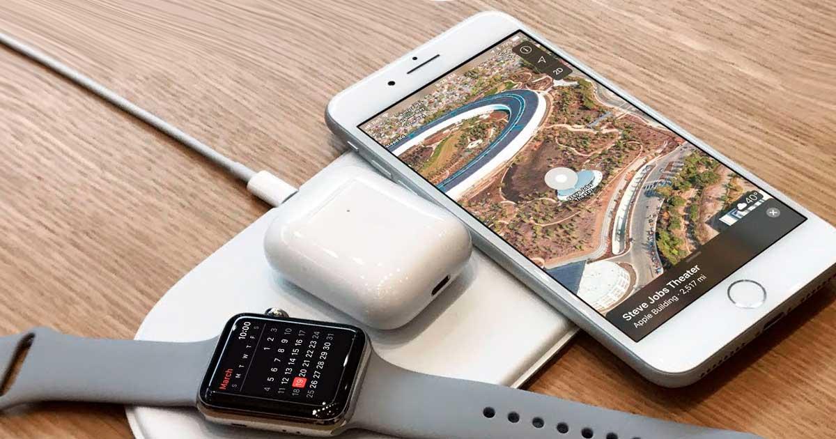Apple está trabajando en una alfombra de carga AirPower más pequeña