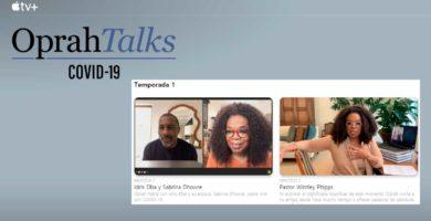"Apple lanza la serie llamada ""Oprah Talks COVID-19"" en Apple TV +"