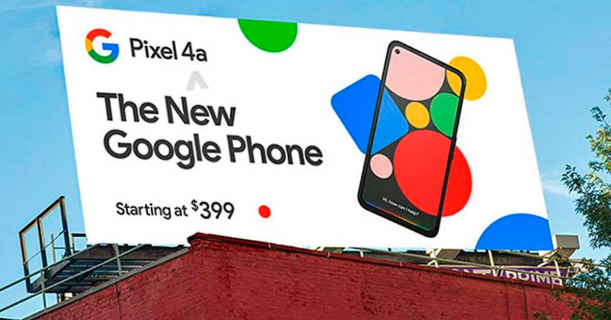 Google Pixel 4a: Se filtra el precio del teléfono en un espectacular