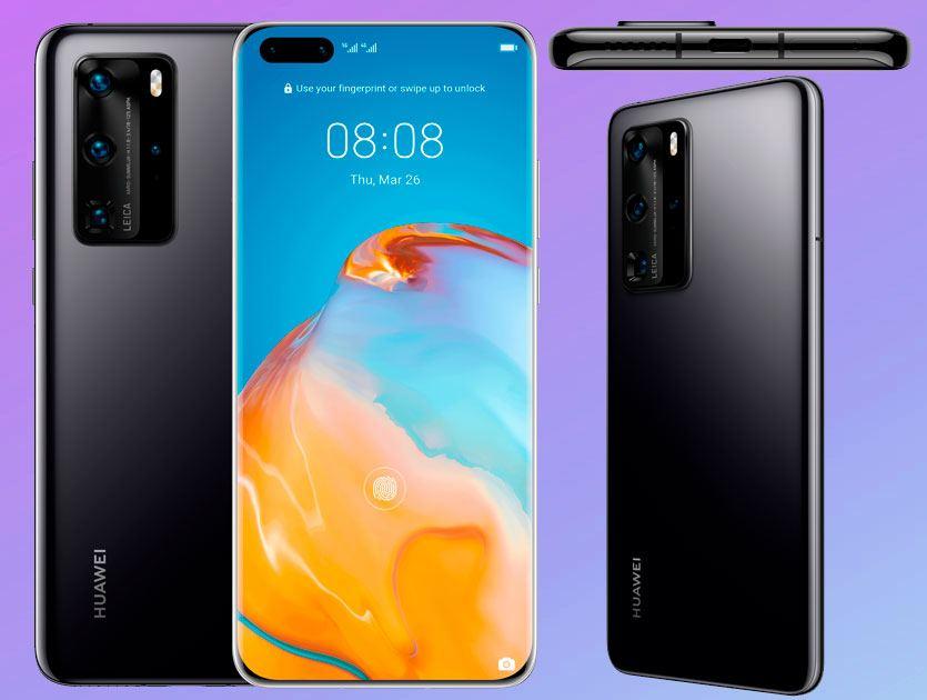 Huawei P40 y P40 Pro especificaciones