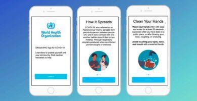 La OMS lanzará una aplicación con información del Coronavirus covid-19