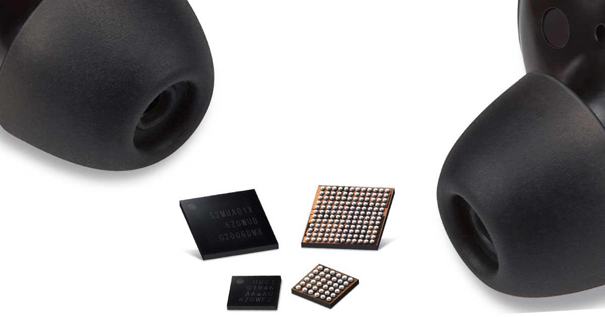 Los nuevos chipsets de Samsung dan mejor duración de batería en auriculares inalámbricos