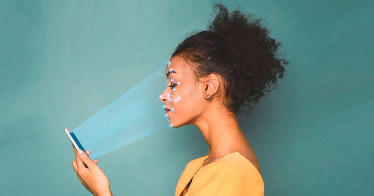 Los próximos teléfonos detectarán la piel viva mediante escaneo facial
