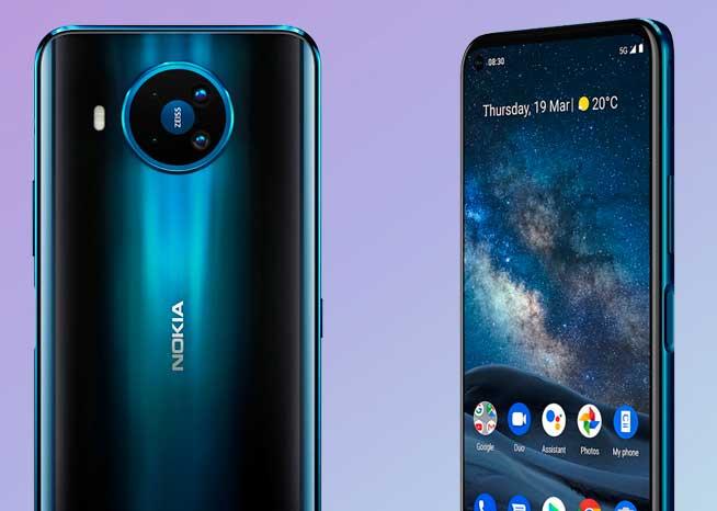 Nokia 8.3 5G: Caracteristicas, Precio y Fecha de lanzamiento