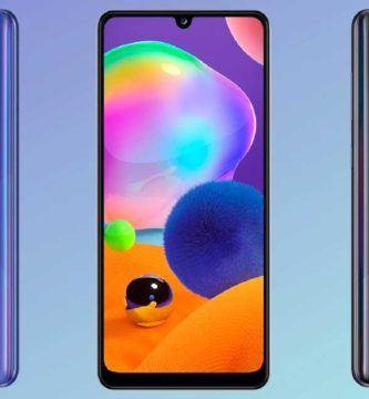 Samsung Galaxy A31: Características, Precio y Ficha técnica