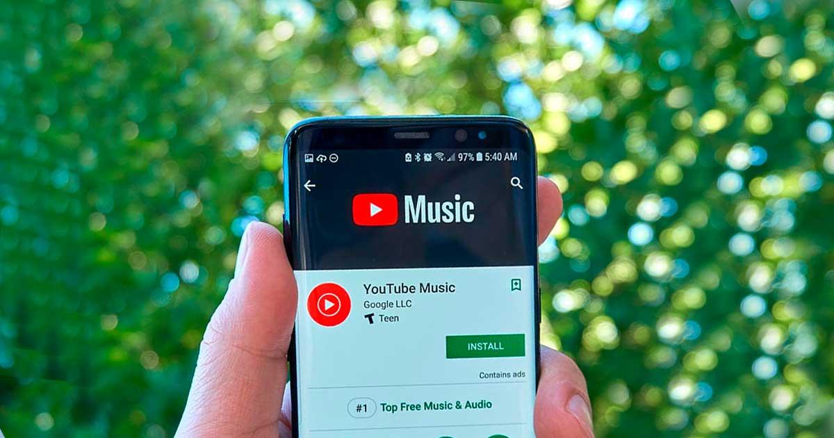 YouTube Music ahora muestra letras de canciones en Android e iOS