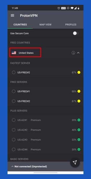 conectarse a una vpn de estados unidos