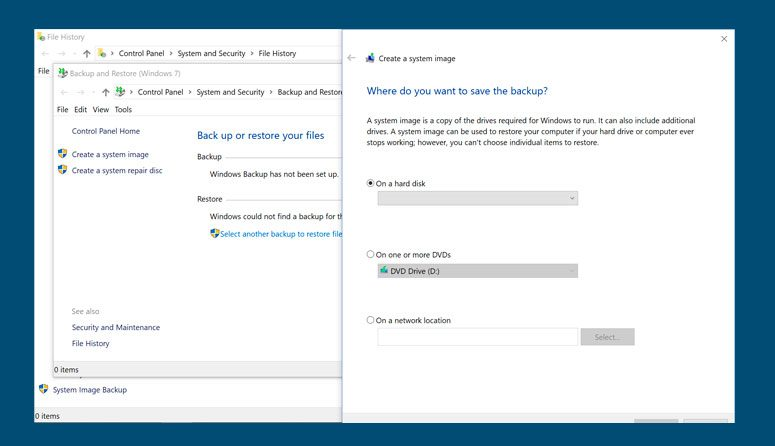 crear un archivo de imagen de una unidad USB.