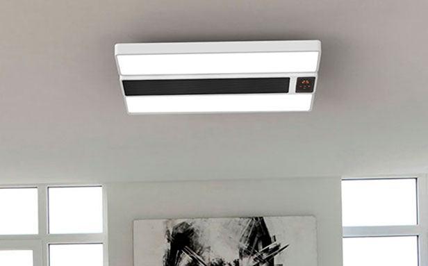 nueva lámpara inteligente de Xiaomi rectangular que funciona como un calentador doméstico