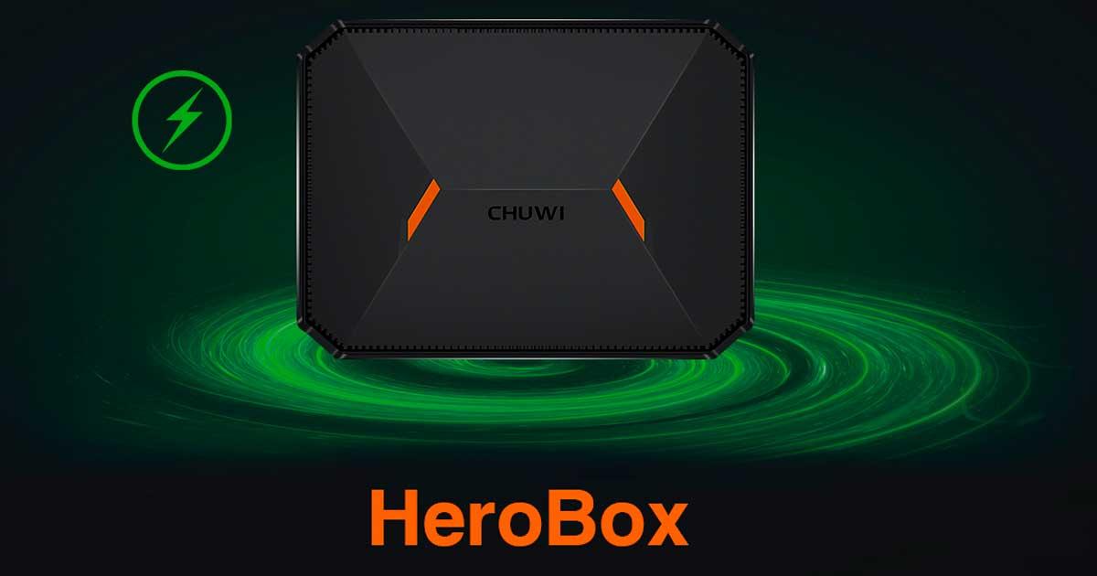 CHUWI HeroBox: Una mini PC súper asequible con 8GB de RAM y un SSD