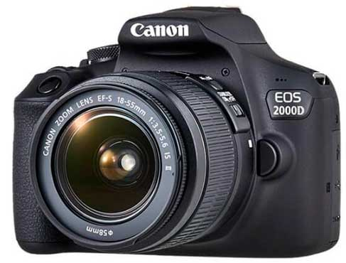 Canon EOS 2000D (Rebel T7)