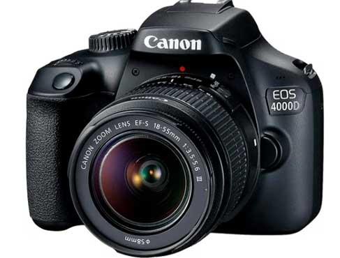 Canon EOS 4000D DSLR