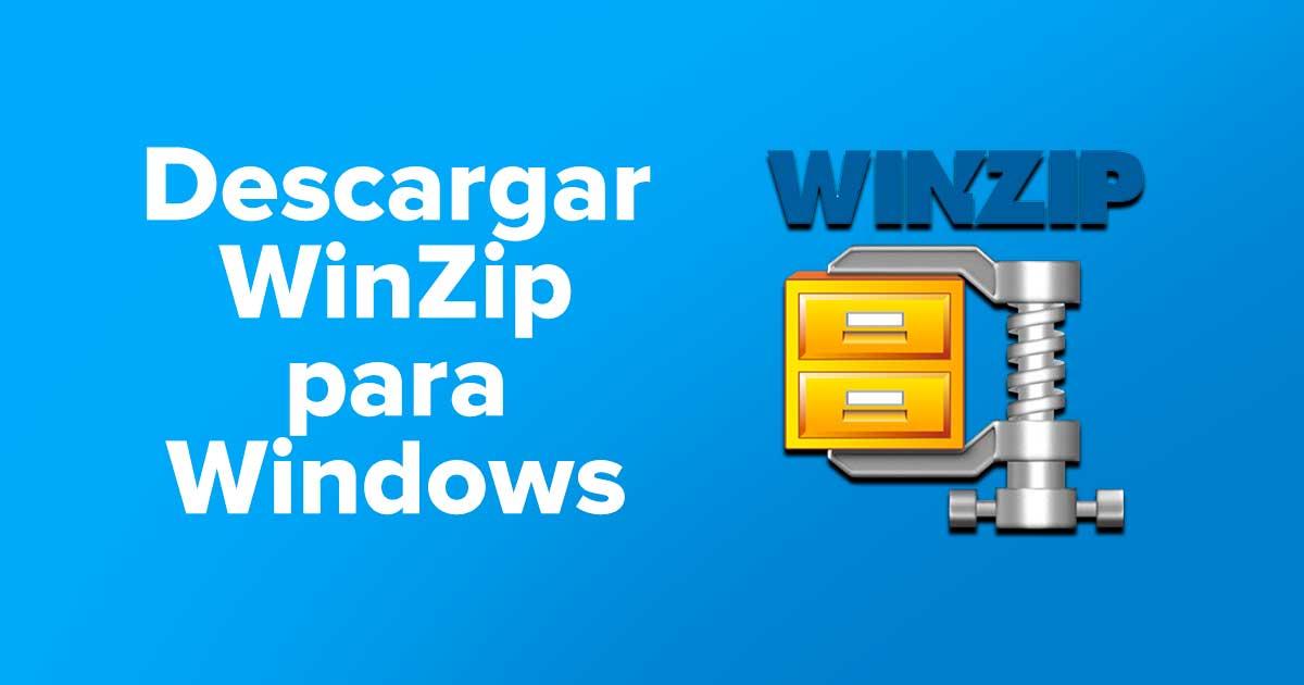Descargar WinZip para Windows