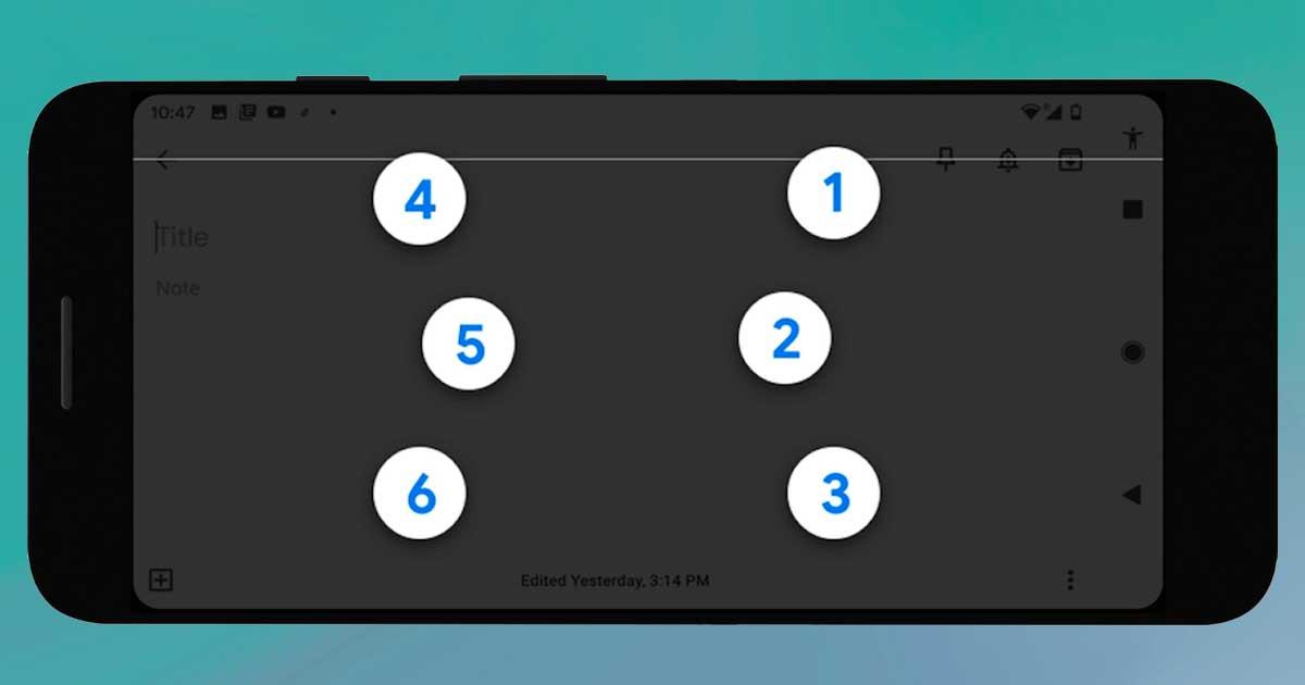 Google lanza el teclado virtual Braille para Android