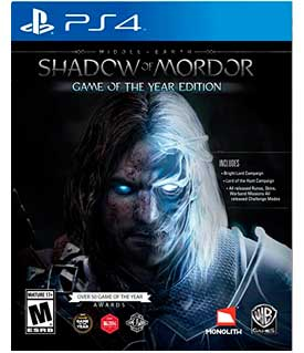 Middle-Earth:Shadow Of Mordor Game Of The Year Edition