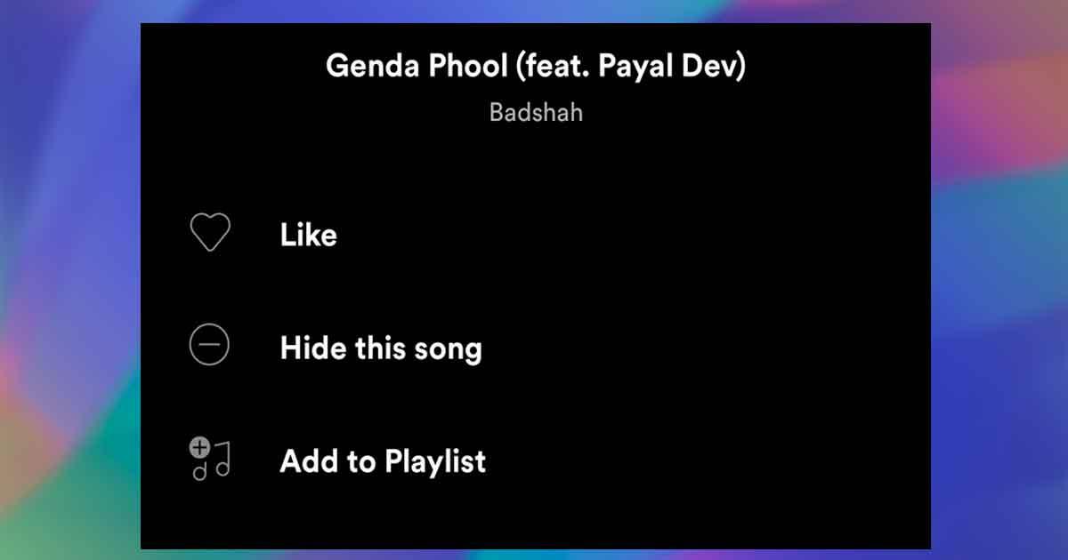 """Spotify agrega la opción """"Ocultar esta canción"""" para usuarios Premium"""