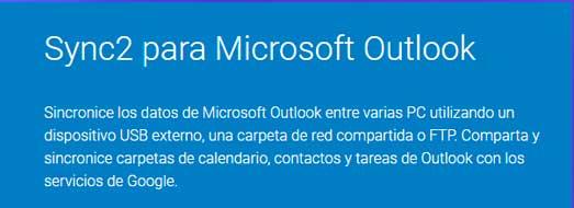 Sync2 para Microsoft Outlook