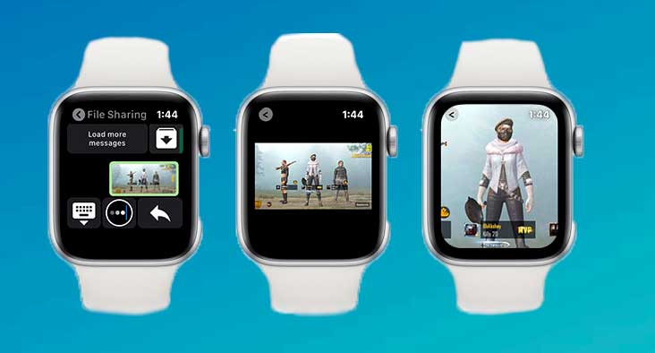Ver imágenes y videos apple watch