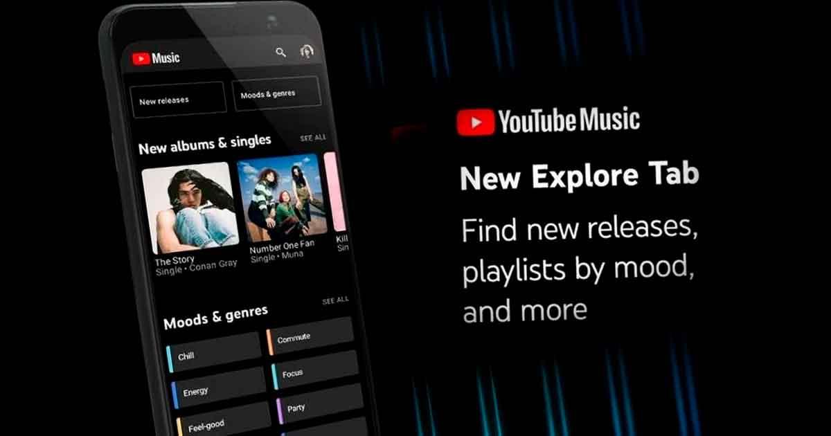 YouTube Music se actualiza para facilitar la búsqueda de nueva música