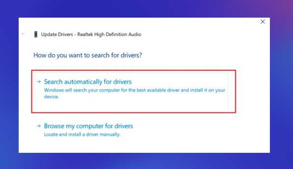 buscar drivers