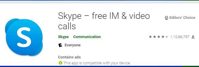 descargar e instalar Skype Chromebook