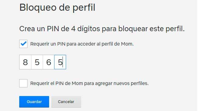 pin de 4 digitos