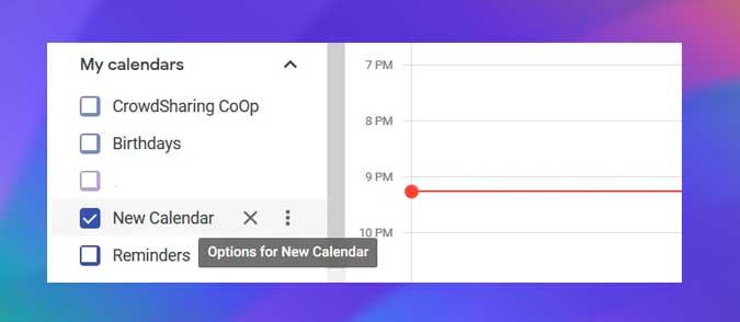 selecciona el calendario que deseas agregar a Outlook
