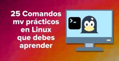 25 Comandos mv prácticos en Linux que debes aprender