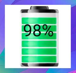 Indicador de nivel de batería