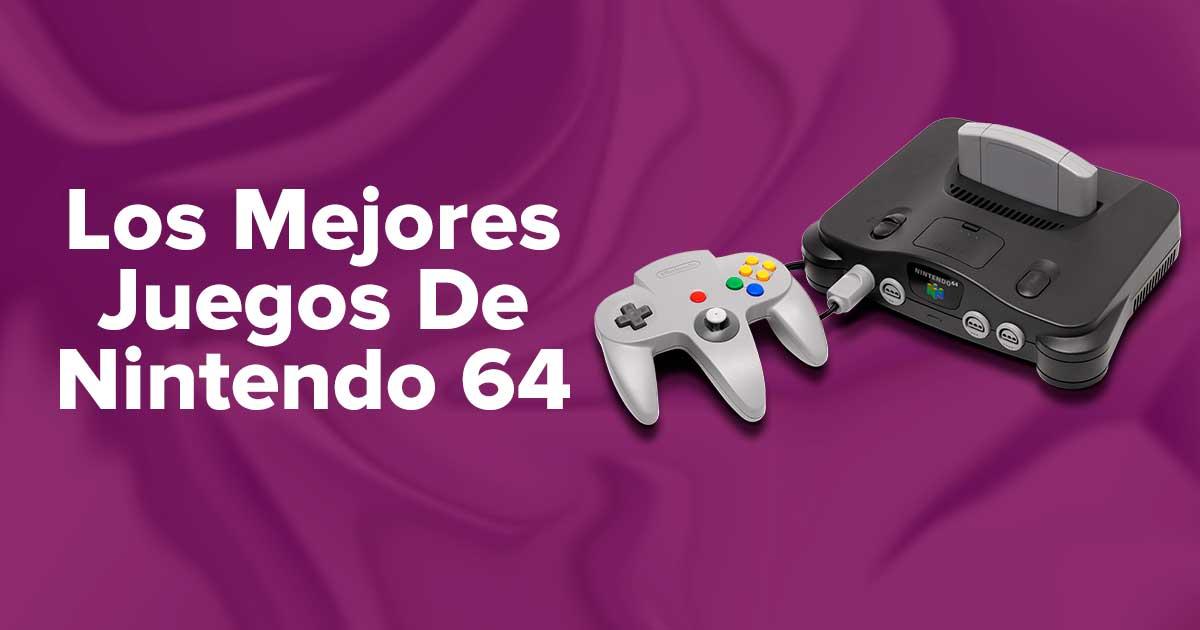 Los Mejores Juegos De la consola Nintendo 64 (N64)