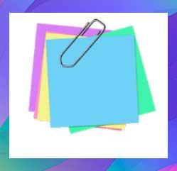 Notas adhesivas + widget