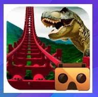 Real Dinosaur Roller Coaster VR